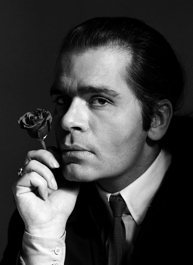 Renato grignaschi ritratti for Karl lagerfeld fotografo